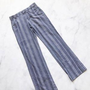 Banana Republic Textured Stripe Trouser